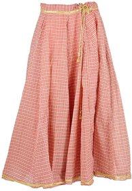 Zuhayr Women's Full Skirt (Red)