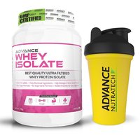 Advance Nutratech Whey Isolate Protein Powder 1kg (2.2l