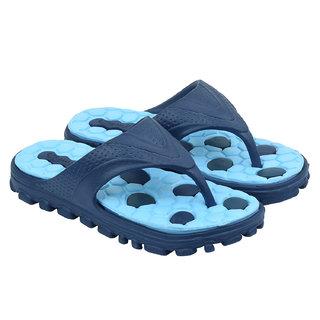JPS TRADERS Sky Blue Slip On Slippers For Men/Boys