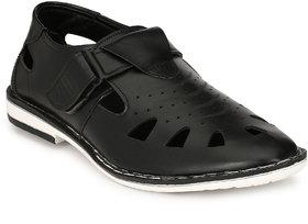 Shoegaro Men'S Black Sandals