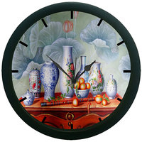 meSleep Table Vases Wall Clock (With Glass)