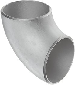 Stainless Steel 304/304L Butt-Weld Pipe Fitting, Short Radius 90 Degree Elbow, Schedule 10s
