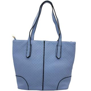 d6e4535cad80 Trendy Blue Colour Designer Handbag For Women