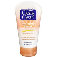 Clean & Clear Morning Burst In-Shower Facial, 4-Ounces (Pack Of 3)
