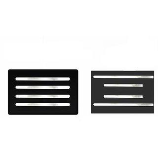 A2D Mirror Chrome Bumper Protectors Set Of 4-Mahindra Scorpio Type 2
