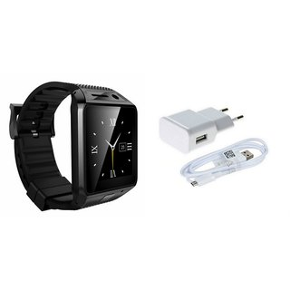 QWERTY DZ09 Smart Watch  Mobile Charger for Redmi Note 4
