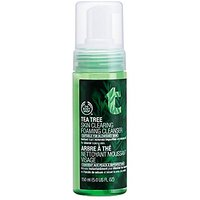 The Body Shop Tea Tree Skin Clearing Foaming Cleanser, 5.0-Fluid Ounce