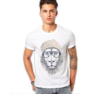 edgemeter White Round Mans T-Shirt