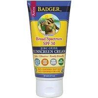 Badger Sunscreen Broad Spectrum SPF 34 Lavender 2.9 Fl Oz