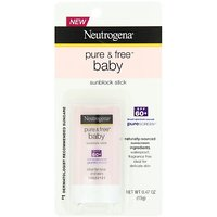 Neutrogena Baby Sunblock Stick SPF 60+, 0.47 Ounce (Pack Of 3)
