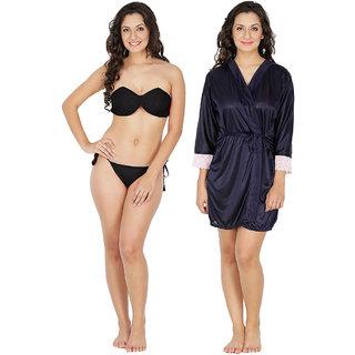 Klamotten Nightwear and Bikini Set Combo 221K-209N