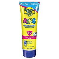 Banana Boat Kid's Tear Free Sunscreen Lotion SPF 50, 8-Ounce (Pack Of 2)