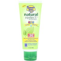 Banana Boat Natural Reflect Kids Sunscreen Lotion SPF 50, 4 Fluid Ounce