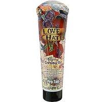 Pro Tan 2009 Love Hate Maximizing Creamy Oil For Men Tanning Lotion 9.5 Oz.