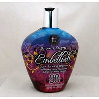 Tan Incorporated Brown Sugar EMBELLISH Bronzer Tanning Lotion 13.5 Oz