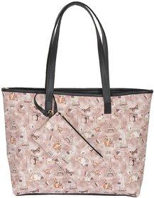 Azzra Paris Point  Shoulder Handbag With Mobile Pouch