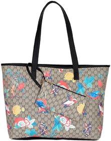 Azzra Floral Gucc  Shoulder Handbag With Mobile Pouch