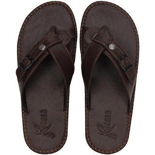 7706921d0a5d27 Buy Kraasa Brown Synthetic Sandals Online - Get 2% Off