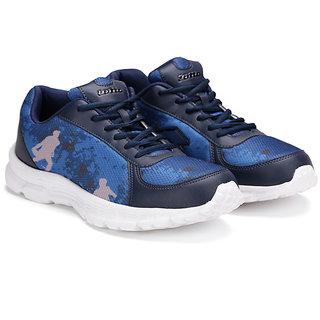 Lotto Portlane Subli Navy  Grey Running Sport Shoes AR4784-424