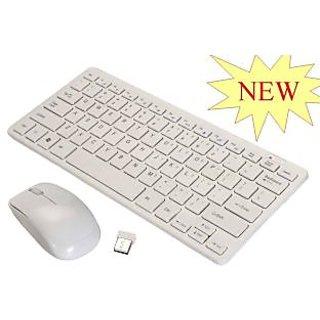 Multimedia Wireless Portable Mini Keyboard+Mouse for Laptop  Desktop