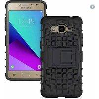 Samsung Galaxy J2 Prime G532 2016 Armor Defender Kick Stand Hybrid Cover Case