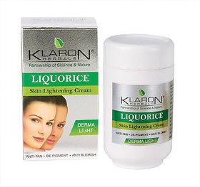 Klaron Herbals - Liquorice Skin Lightening Cream (65gm x 2)