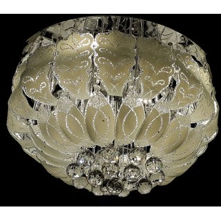 Buy 600 mm Led Jhoomer Ceiling Light Decorative LED Chandelier With ...