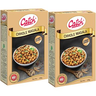 c61e3796a4 Buy Catch Spices Chhole Masala 100gms (pack of 2) Online @ ₹116 ...