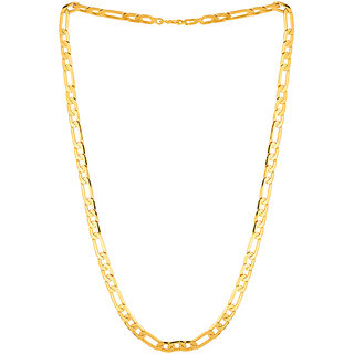 Sparkling Jewellery Gold Plated Chain For Men