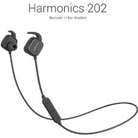 Portronics Harmonics 202 (Black) In-Ear Stereo Headphone With Smart Magnetic-Switch, Latest 4.1 Bluetooth, In-Line Micro