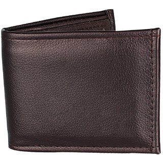 1M Black PU SD Black or brown Single fold Wallet For Men 1 piece