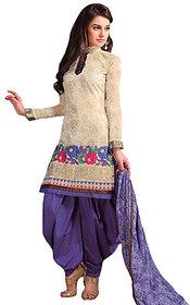 Multicoloured Cotton Dress Material