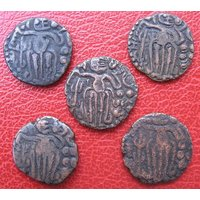 Very Very Rare RAJA RAJA CHOLA Copper Coin - Genuine Coin which is more than 1000 years old