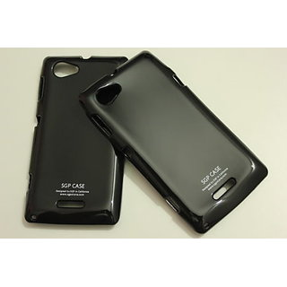hot sale online e8f66 fe5aa SGP Soft Silicon Back cover case pouch For Sony Xperia M C1904 C1905-black