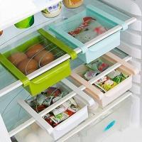 Multi Purpose Storage Rack Organizer for Refrigerators (Color May Vary - Single Piece)