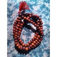 Red Sandalwood 108 Beads 8mm Bracelet