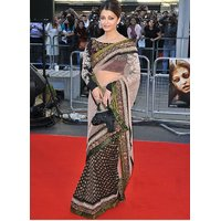 Aishwarya Rai  Saree Multi