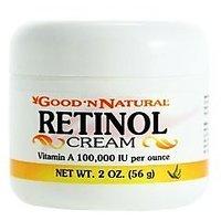 Retinol Cream (Vitamin A Cream) 100000 Iu Per Ounce 2 Oz (Pack Of 3)