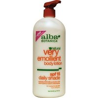 Alba Botanica Very Emollient Body Lotion Daily Shade Formula Spf 15