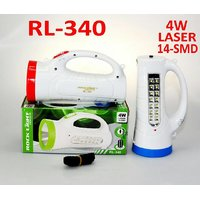 Rock Light RL-340 5-Watt Rechargeable LED Torch (Color May Vary)