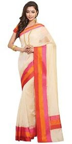 9V Multicolor Silk Dotted Saree With Blouse
