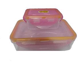 Jaypee Lunch Box Light Pink (4 way lock)