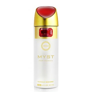 Armaf Myst Perfume Body Spray for Woman 200 ml Pack.