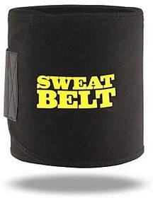 Hot Shapers Sweat Waist Trimmer Fat Burner Belly Tummy Yoga Wrap Black Body Slimming Belt Exercise