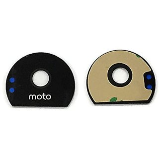 Pacific New Camera Lens With Adhesive Sticker - For Motorola Z / Z Play- Black