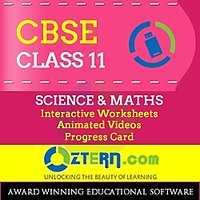 OZTERN Class 11 CBSE  Program-USB (Physics, Chemistry, Biology & Math's)