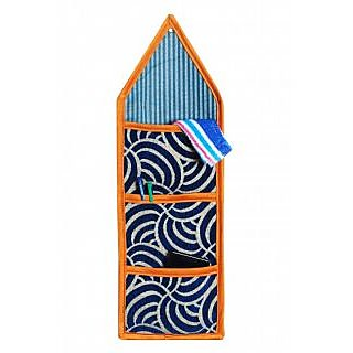 AS Designer Multiple storage wall hanging with 3 pocket -  Multicolors
