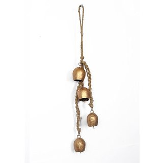Antique Rustic Wall Hanging Jhumar Door Bell Vintage Style Home Decor  Fengshui