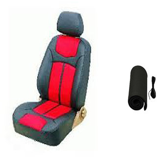 Musicar Hyundai Creta Black Leatherite Car Seat Cover with1 Year Warranty And  Steering cover Free