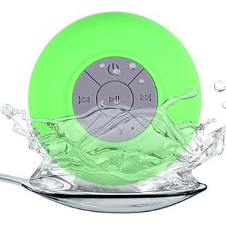 Water proof Bluetooth shower Portable Bluetooth Mobile/Tablet Speaker (((asorted Colors)))
